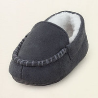 baby boy - shoes - moc slippers | Children's Clothing | Kids Clothes | The Children's Place