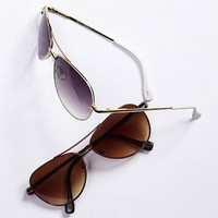 Metal Aviator Sunglasses - Jessica Simpson® - Victoria's Secret