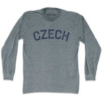 Czech City Vintage Long Sleeve T-shirt