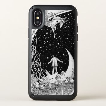 Fantasy starry sky speck iPhone x case