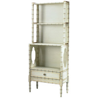 Chelsea House Bamboo Cream Painted Bookcase