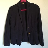 Unlined casual cotton #JCrew blazer jacket, perfect for spring. No ...