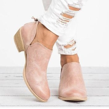 Ankle Boots Butterfly-knot Chelsea Boots