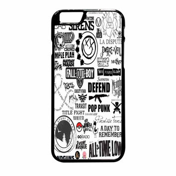 Fall Out Boy All Time Low Pierce The Veil Band And Bands iPhone 6 Plus Case