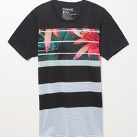 Hurley Tropic Jail T-Shirt - Mens Tee - Black