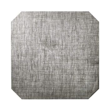 Angkor Placemats in Gray & Silver - Set Of 4