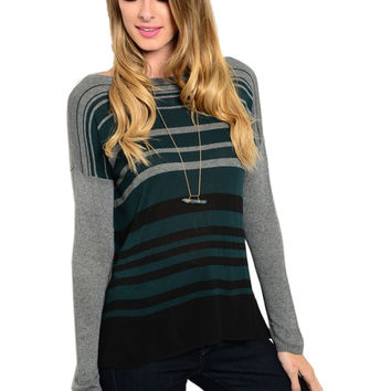 Long Sleeve Lightweight Knit Sweater