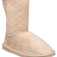 Quilted Cozy Boots | Wet Seal