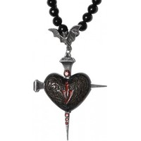 Heart of Darkness - vampire necklace by Alchemy Gothic