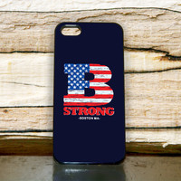 """Boston Red Sox B Strong For iPhone 4/4s, iPhone 5/5S/5C, Samsung S2 i9100, Samsung S3 i9300, Samsung S4 i9500 """"Floridina"""""""