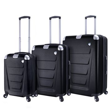 Accadia Hardside Spinner Luggage Set (3 Pieces)