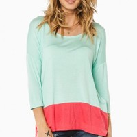 JOELY TOP IN MINT
