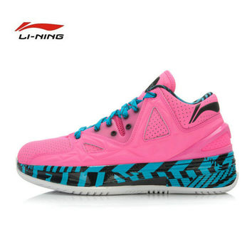 Li-ning Wade series 2.5 Fountainbleau new men's basketball shoes  Li Ning Super strong rebound  sports shoes for men  ABAJ003