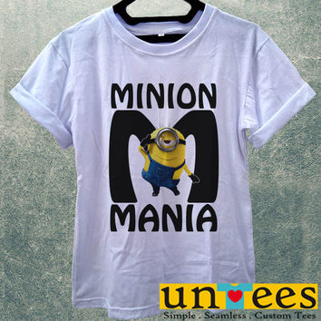 Low Price Women's Adult T-Shirt - Minion Mania design