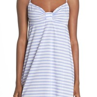 kate spade new york stripe cotton lawn sleep chemise | Nordstrom