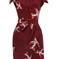 Warehouse Bird print dress Multi-Coloured - House of Fraser