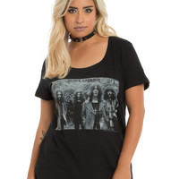 Black Sabbath Black & White Photo T-Shirt Plus Size