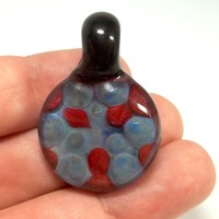 Implosion Glass Pendant by Ed DuBick