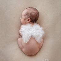 Infant Baby Cute Angel Feather Wings Photo / Photography Props
