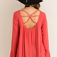 Strappy Blouse