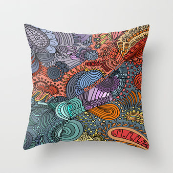 OddBall Throw Pillow by DuckyB (Brandi)