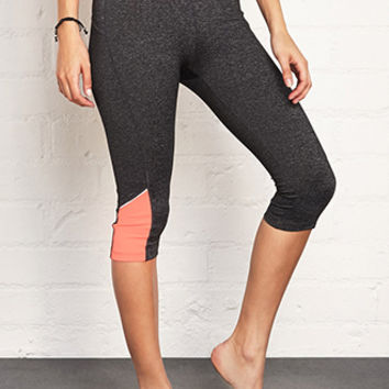 FOREVER 21 Key-Pocket Performance Capris