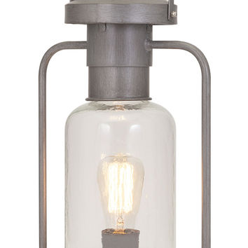 Striking Newport Glass Lantern Table Lamp