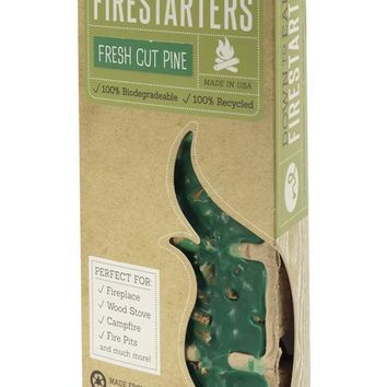 Fresh Cut Pine Scented Firestarters