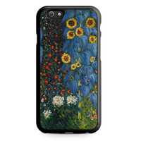 Gustav Klimt Sunflowers Unique Iphone 5 Case