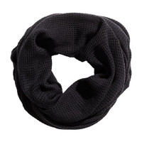 Mesh-knit Tube Scarf - from H&M