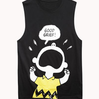 Charlie Brown Muscle Tee