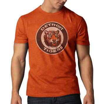 47 Brand Detroit Tigers Vintage Scrum T-Shirt - Orange-