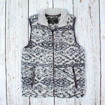Tribal Frosty Tipped Vest by True Grit (Dylan)