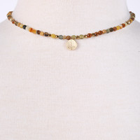Betsy Pittard Jameson Choker - Earth Tones