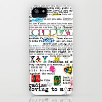 COLDPLAY iPhone & iPod Case by Adel