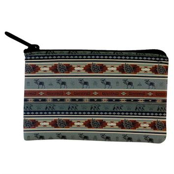 ONETOW Adirondack Bear Moose Pattern Coin Purse