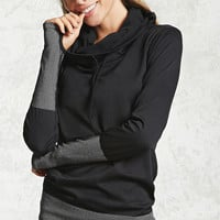 Active 09 Graphic Hooded Top
