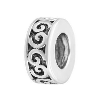 Spacer 925 Sterling Silver European Bead for Pandora Bracelet