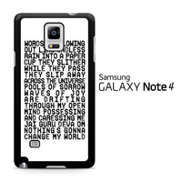 Across The Universe Samsung Galaxy Note 4 Case