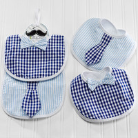 "Baby Aspen ""Little Man"" Bibs"