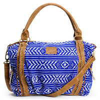 Element Stella Blue Aztec Print Tote Bag