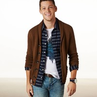 AE Shawl Cardigan | American Eagle Outfitters