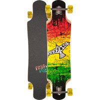Freeride Skateboards Flights Micro Drop Longboard Rasta One Size For Men 24883994701