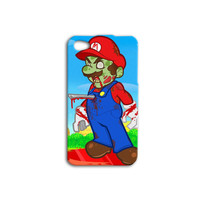 Mario Brothers Zombie Funny Custom Case for iPhone 5/5s and iPhone 4/4s