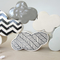 Ceramic Wall Hanging Cloud Made to Order