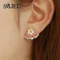 Cherry Blossom Flower Earring