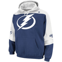 Majestic Tampa Bay Lightning Ice Classic Pullover Hoodie - Navy Blue