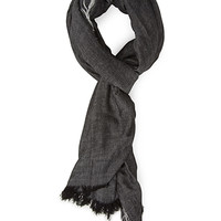 FOREVER 21 Oversized Two-Tone Scarf