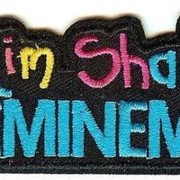 Eminem Iron-On Patch Slim Shady Logo