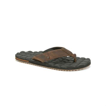 Volcom Recliner Leather Sandals